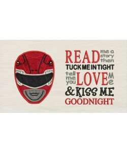 Power Ranger with read me a story