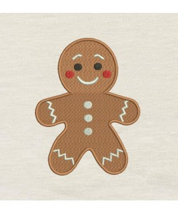 Gingerbread Embroidery