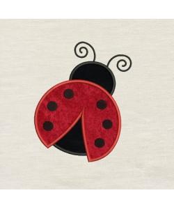 Ladybug v2 applique