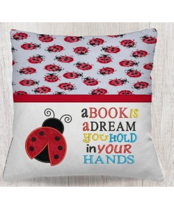 Ladybug with a book is a dream