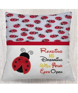 Ladybug WITH reading is dreaming V2