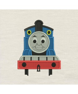 Thomas the train embroidery