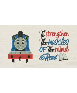 Thomas embroidery with To strengthen
