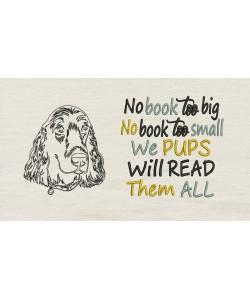 Dog line No book too big
