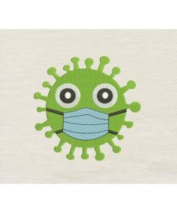 Virus Embroidery