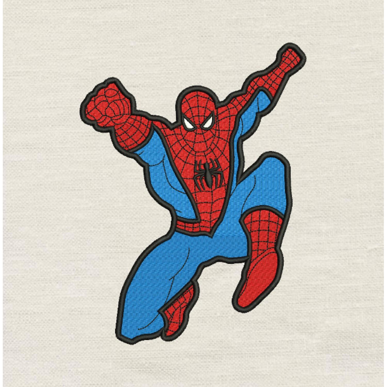 Spiderman grand v2 embroidery