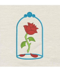 Belle Rose embroidery