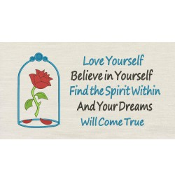 Belle Rose with love yourself