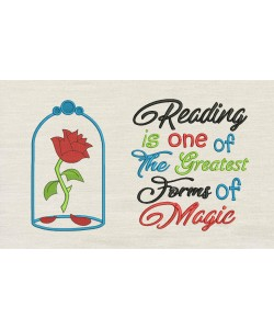 Belle Rose with reading is one of
