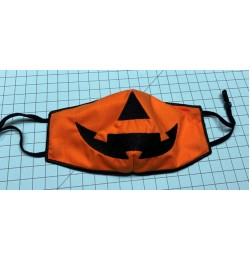 Face Mask jack For kids and adult in the hoop embroidery