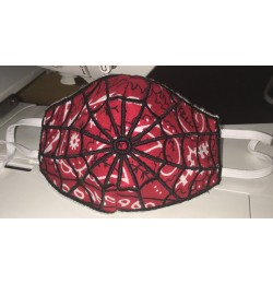 Face mask spiderman v2 For kids and adult in the hoop
