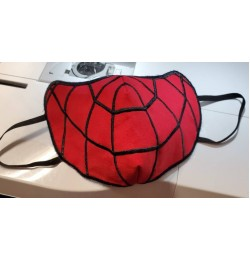 face mask spiderman v3 Embroidery Design For kids and adult in the hoop embroidery