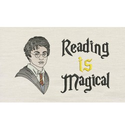 Harry border with Reading is Magical