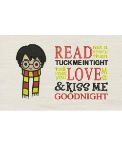 Harry potter scarf with read me a story