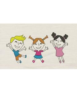 Children embroidery