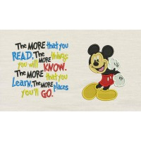 Mickey mouse embroidery V2 with the more that you read