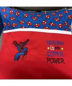 Spiderman Reading is My Super power