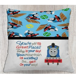 Thomas the train with You're off to Great Places