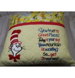 Dr. Seuss with Youre Off To Great Places