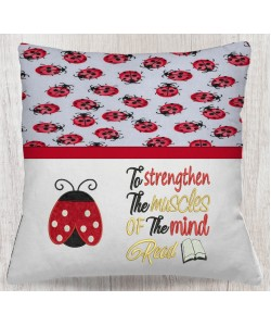 Ladybug To Strengthen embroidery