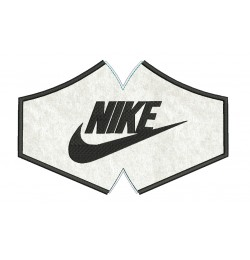 Face mask nike For kids and adult in the hoop