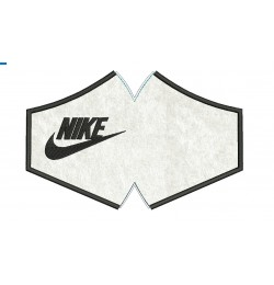 Face mask nike V2 For kids and adult in the hoop