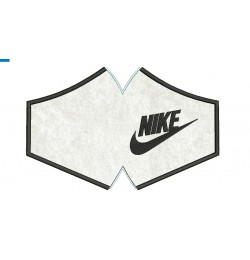 Face mask nike V3 For kids and adult in the hoop