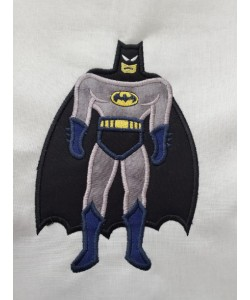 Batman Applique Design