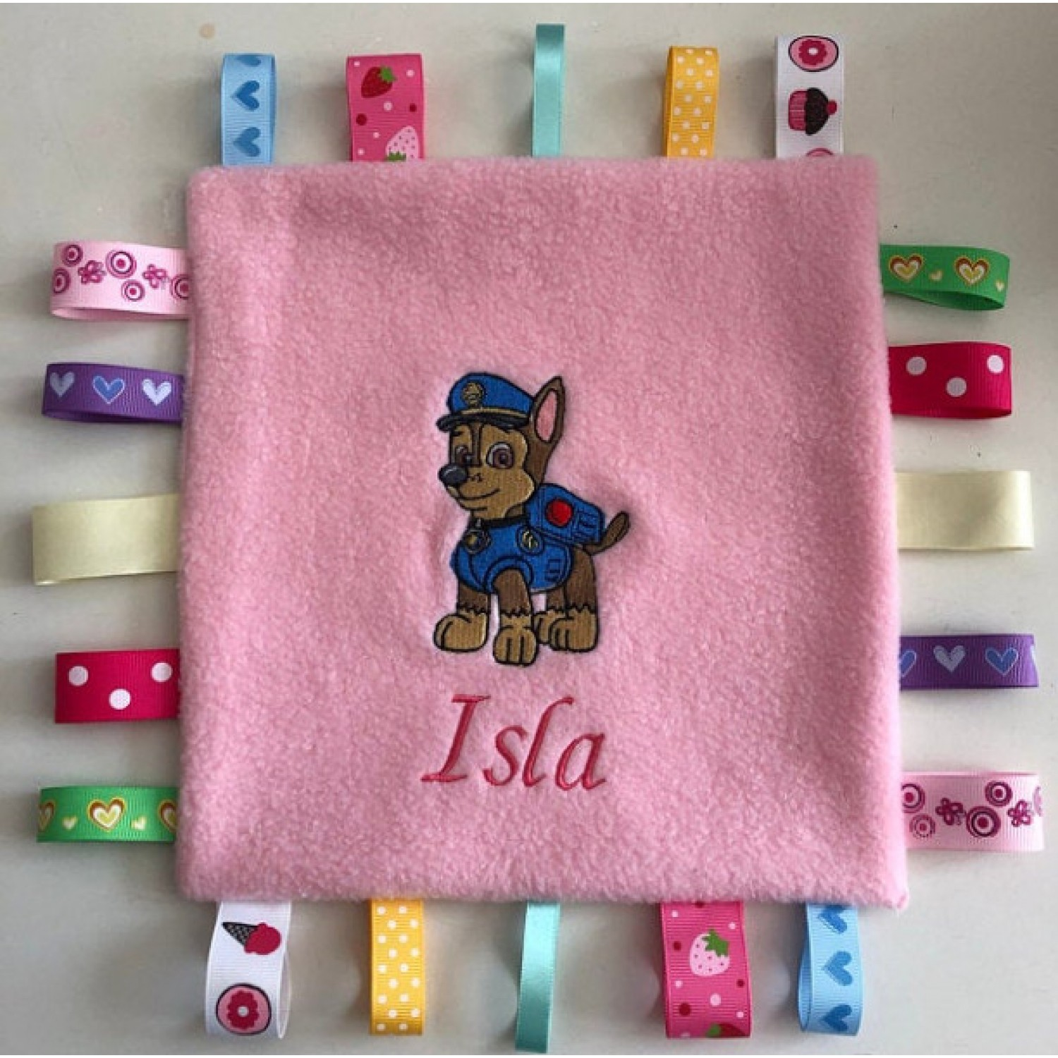 Paw Patrol Chase embroidery design