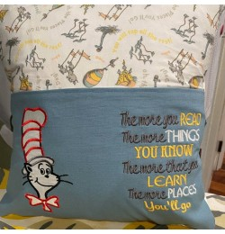 Dr-Seuss with The more you embroidery
