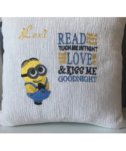 Minion shame with read me a story