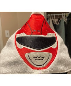 Power Ranger Red Embroidery