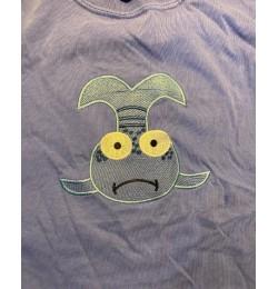 Pout Pout Fish embroidery design