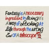 Fantasy Embroidery Design