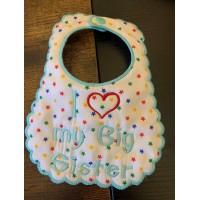 Baby bibs in the hoop Design