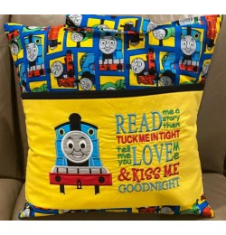 Thomas the train applique with read me a story