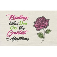 Rose with reading takes you