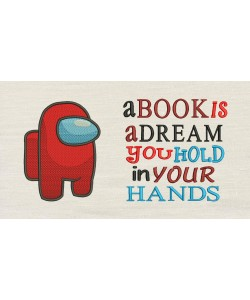 Among with a book is a dream