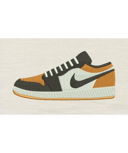 Nike shoes embroidery