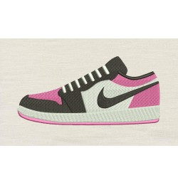 Nike shoes design embroidery