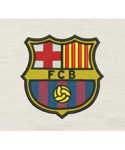 FC Barcelona Embroidery