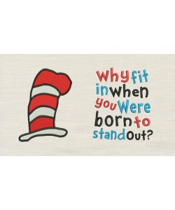 Hat Dr Seuss with Why fit