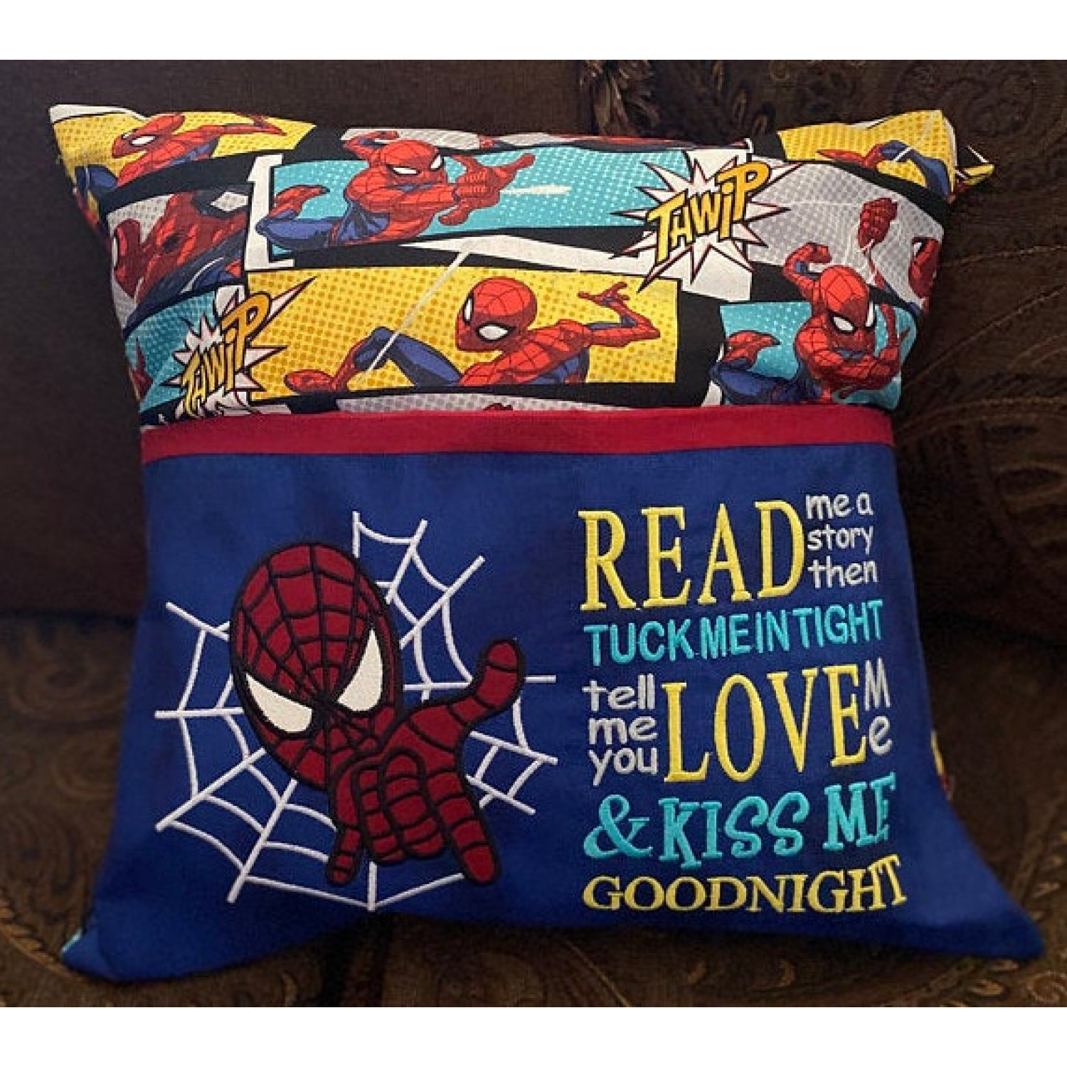 Spiderman with read me a story