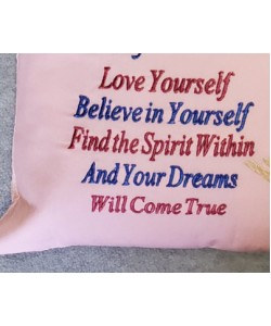 Love yourself Embroidery