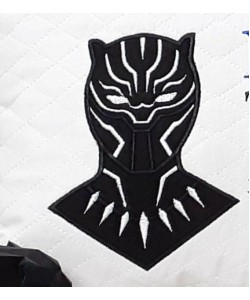 Black panther applique Design