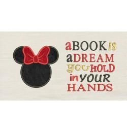 Minnie Head a book is a dream