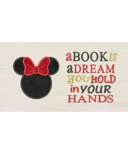 Minnie Head a book is a dream