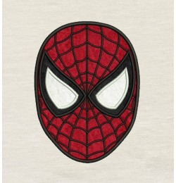Spiderman face Embroidery