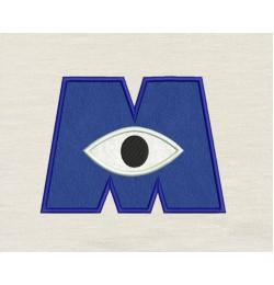 Eye monster applique