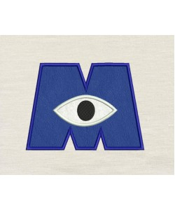 Eye monster applique